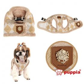 Puppia Hundegeschirr Step in beige