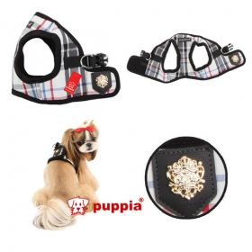 edles Step in Hunde Softgeschirr Puppia