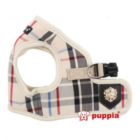 Puppia Step in Softgeschirr beige - Hundegeschirre